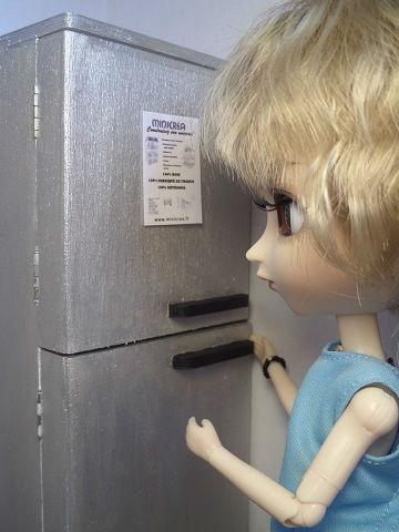 Diorama frigo 1/6ème Minicréa